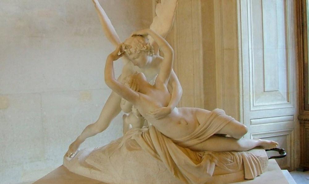 Eros statue